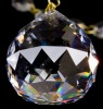 Křišťálový lustr exclusiv 2patrový 18ramenný 16L134CE18 82x70cm zlacený řetěz