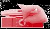Křišťálový lustr Swarovski 8-ramenný 11LA010SW8 78x50cm zlacený řetěz