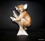 Porcelánová soška - Medvídek Koala 24475 pastel