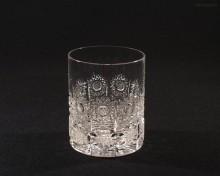 Sklenice broušená křišťálová whisky 20260/57001/320 320ml. 6ks.