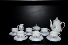 Kávová souprava pomněnky, tvar Verona 15 dílná