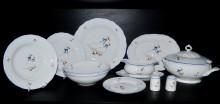 Porcelánová jídelní souprava Husa, tvar Verona, 28 dílná