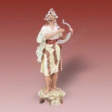Porcelánová soška - Cikán  04349 saxe