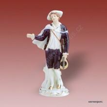 Porcelánová soška - Minesengr 22243 isis