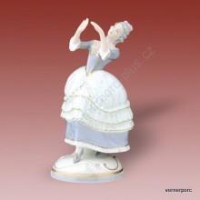 Porcelánová soška - Tanečnice rokoko 3794 luxor