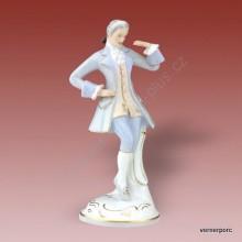 Porcelánová soška - Tanečník rokoko 3793 luxor