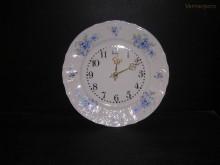 Porcelánové hodiny talířové, Bernadotte 27 cm