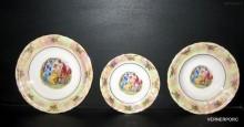 Sada talířů Sonáta 676 18-dílná, listr/tři grácie
