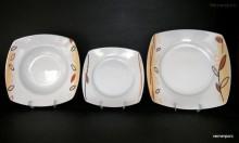 Sada talířů Tetra 085V 18-dílná