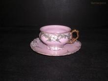 Šálek s podšálkem čajový, Renata 206
