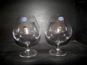 Sklenice Vintage 875 ml. brandy 2ks