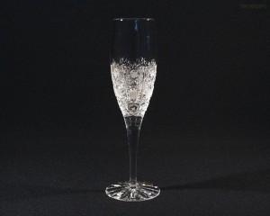 Sklenice křišťál brus Adela flétna 12170/57001/160  160ml. 6ks.