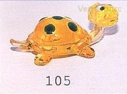 Želva s puntíky 105