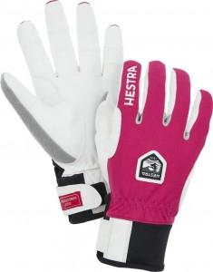 Běžecké rukavice Ergo Grip WINDSTOPPER® Race fuchsia