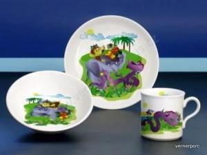 Dětský porcelán Viola 023 3dílný