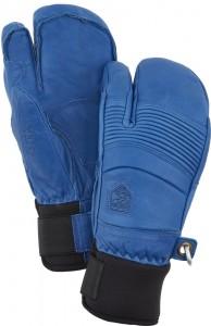 Freeridové tříprsté lyžařské rukavice Leather Fall Line