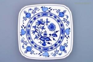 Hranatý talíř 21 cm