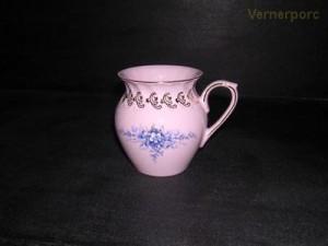 Hrnek Alba 09 0,25 l., růžový porcelán