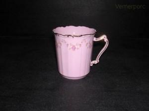 Hrnek Amis 158 0,25 l., růžový porcelán
