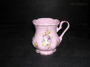 Hrnek MA 06 0,25, růžový porcelán