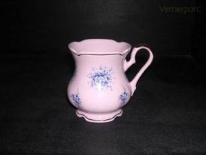 Hrnek MA 09 0,25 l., růžový porcelán