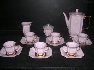 Kávová souprava mokka, Empír 15 d.