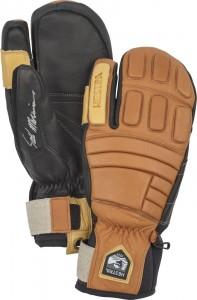Kožené rukavice Seth Morrison's Pro Model tříprsté Cork