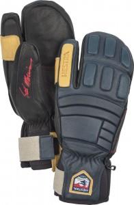 Kožené rukavice Seth Morrison's Pro Model tříprsté navy
