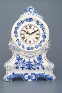 Krbové hodiny s růžičkami 28cm