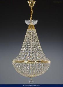 Křišťálový lustr brilliant 02001/00113/006 45x72cm