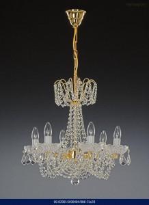 Křišťálový lustr brilliant 02001/00404/006 51x50cm