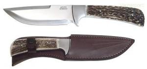 Lovecký nůž 398-NP-13B nerez+paroh