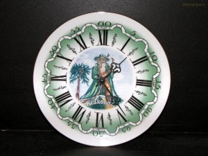 Nástěnné hodiny 25cm Krakonoš