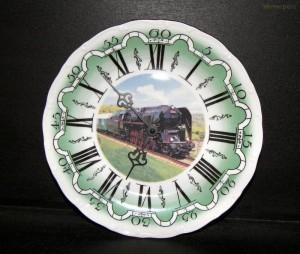 Nástěnné hodiny vlak1 25cm