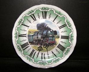 Nástěnné hodiny vlak2 25cm