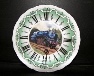 Nástěnné hodiny vlak4 25cm