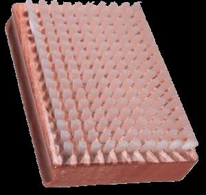Obdelníkový kartáč s nylonovými štětinami 12006