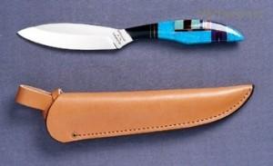 Pevný nůž T2S Trout & Bird, Pstruh & Pták