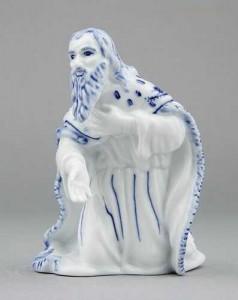 Porcelánová figurka - Král Melichar
