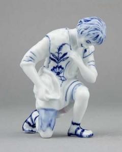 Porcelánová figurka - Ovčák