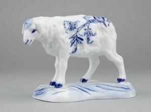 Porcelánová figurka - Ovce