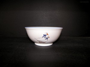 Porcelánová miska dekor Husa 16cm