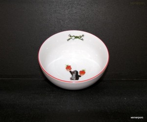 Porcelánová miska Krtek 14,5cm