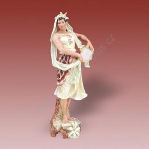 Porcelánová soška - Cikánka  04350 saxe