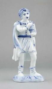 Porcelánová soška - Král Baltazar