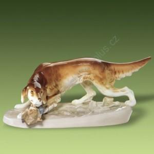 Porcelánová soška - Křepelák 306/2 luxor