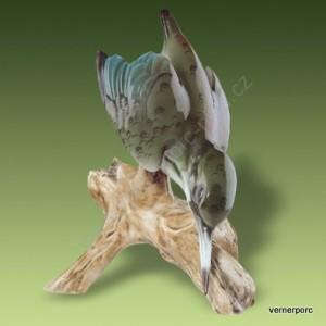 Porcelánová soška - Ledňáček 24491 luxor