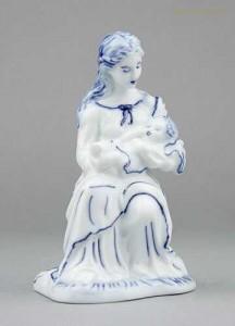 Porcelánová soška - Panenka Marie