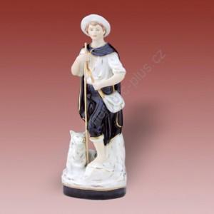 Porcelánová soška - Pastevec  02261 isis