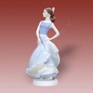 Porcelánová soška - Španělská tanečnice  22179 pastel